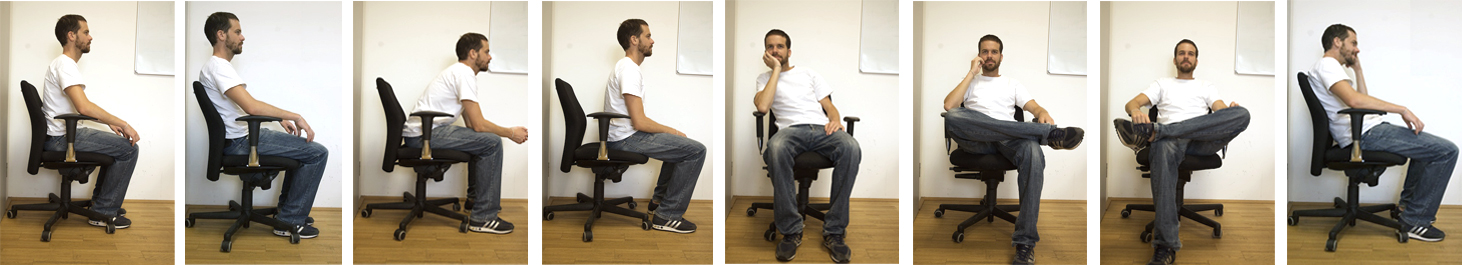 we developed an adjustable office chair equipped with four sensors measuring the office posture to remind users of doing a short - Office Chair For Short Person