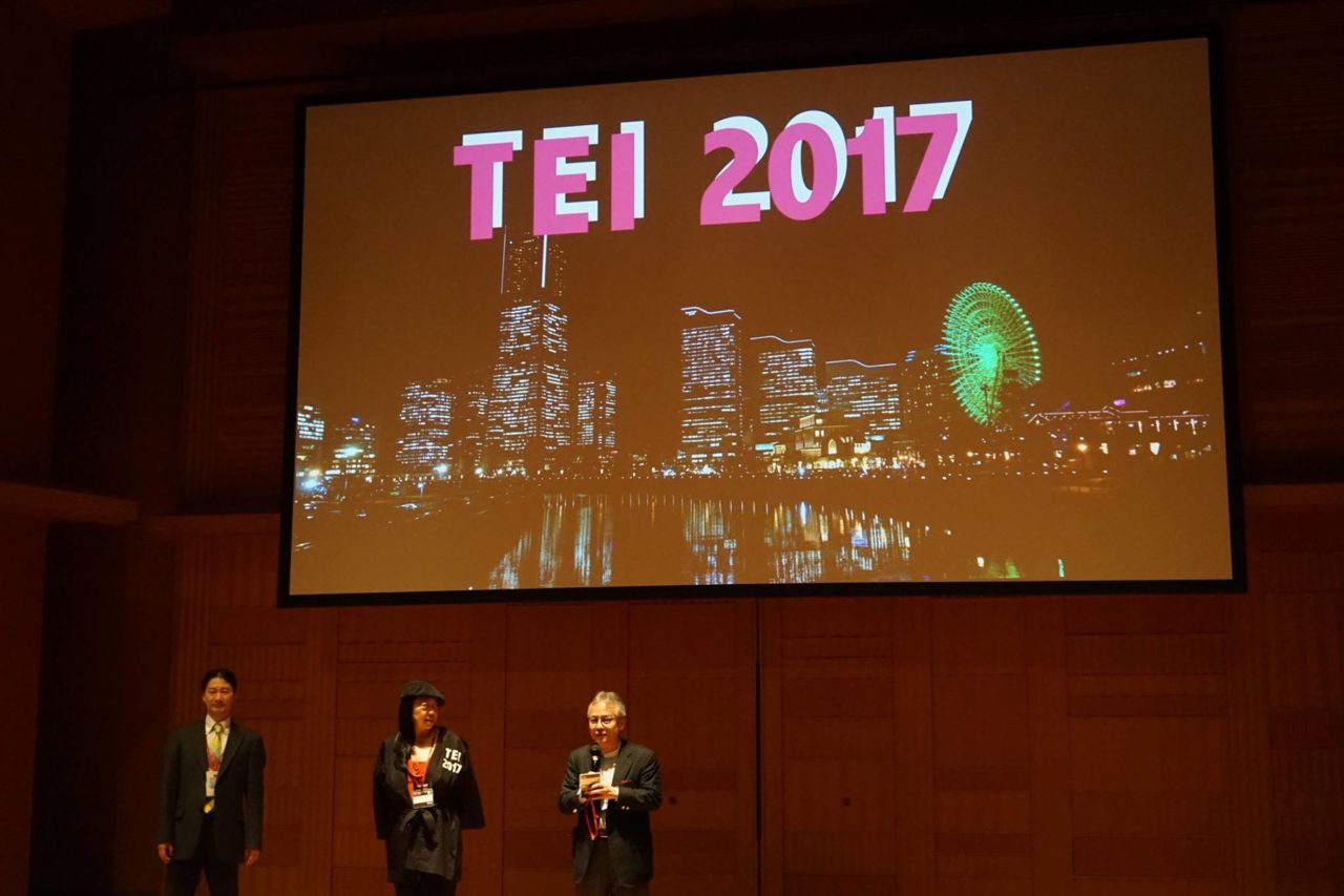 Best Paper Award – TEI 2017